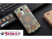 Фирменная роскошная задняя панель-чехол-накладка из мягкого силикона с объемным  3D изображением на LG G5 SE H..