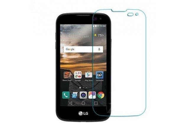 "Фирменная оригинальная защитная пленка для телефона LG K3 LTE K100DS / LG LS450 4.5"" глянцевая"