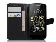 Фирменный чехол-книжка для LG K5 / Q6 (X220ds) 5.0