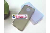 """Фирменная ультра-тонкая полимерная из мягкого качественного силикона задняя панель-чехол-накладка для LG K5 / Q6 (X220ds) 5.0"""" серая"""