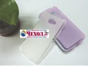Фирменная ультра-тонкая полимерная из мягкого качественного силикона задняя панель-чехол-накладка для LG K5 / ..