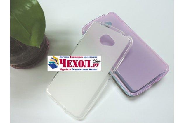 """Фирменная ультра-тонкая полимерная из мягкого качественного силикона задняя панель-чехол-накладка для LG K5 / Q6 (X220ds) 5.0"""" белая"""