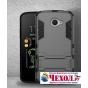 Противоударный усиленный ударопрочный фирменный чехол-бампер-пенал для LG K5 / Q6 (X220ds) 5.0