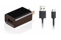 """Фирменное оригинальное зарядное устройство от сети для телефона LG K5 / Q6 (X220ds) 5.0"""" + гарантия"""