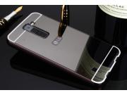 Фирменная металлическая задняя панель-крышка-накладка из тончайшего облегченного авиационного алюминия для LG ..