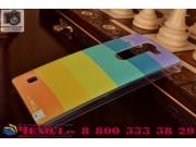 Фирменная необычная из легчайшего и тончайшего пластика задняя панель-чехол-накладка для LG Magna H502
