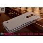 Фирменная ультра-тонкая полимерная из мягкого качественного силикона задняя панель-чехол-накладка для LG Magna..