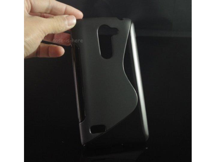 Фирменная ультра-тонкая полимерная из мягкого качественного силикона задняя панель-чехол-накладка для LG Ray /..