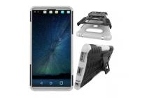 """Противоударный усиленный ударопрочный фирменный чехол-бампер-пенал для LG V20 5.7"""" белый"""