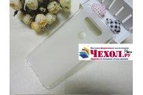 """Фирменная ультра-тонкая силиконовая задняя панель-чехол-накладка для LG V20 5.7"""" белая"""
