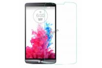 Фирменное защитное закалённое противоударное стекло премиум-класса из качественного японского материала с олеофобным покрытием для телефона LG X Power K220DS