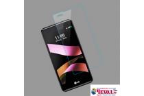 """Фирменное защитное закалённое противоударное стекло премиум-класса из качественного японского материала с олеофобным покрытием для телефона LG X style K200DS / LG X Skin 5.0"""""""