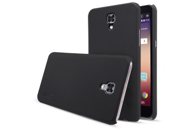 """Фирменная задняя панель-крышка-накладка из тончайшего и прочного пластика для LG X View LGK500DS / X Screen K500Y 4.93"""" черная"""