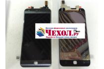 Фирменный LCD-ЖК-сенсорный дисплей-экран-стекло с тачскрином на телефон LG X cam K580DS черный + гарантия