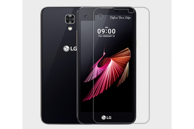 "Фирменная оригинальная защитная пленка для телефона LG X View LGK500DS / X Screen K500Y 4.93"" глянцевая"