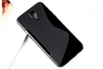 """Фирменная ультра-тонкая полимерная из мягкого качественного силикона задняя панель-чехол-накладка для LG X View LGK500DS / X Screen K500Y 4.93"""" черная"""