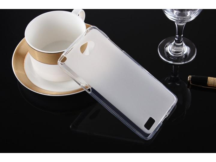 Фирменная ультра-тонкая силиконовая задняя панель-чехол-накладка для LG Bello 2/ Prime 2 X155 / LG Max X155 5...