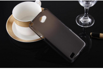 """Фирменная ультра-тонкая силиконовая задняя панель-чехол-накладка для LG Bello 2/ Prime 2 X155 / LG Max X155 5.0""""  черная"""