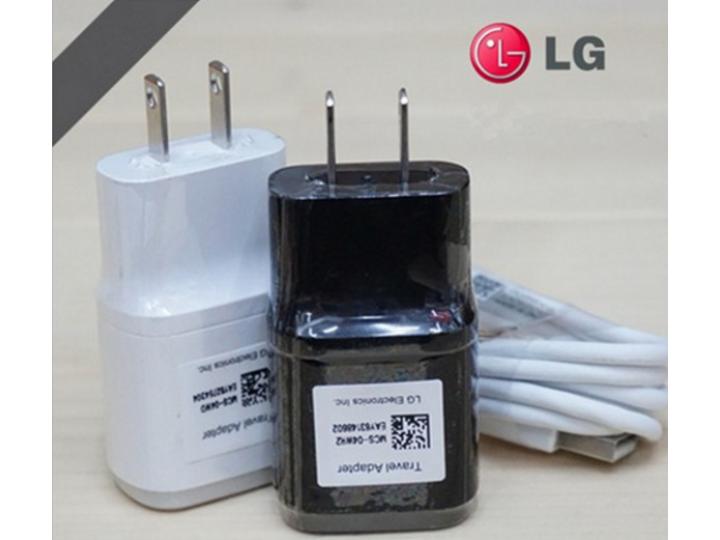 Фирменное оригинальное зарядное устройство от сети для телефона LG Bello 2/ Prime 2 X155 / LG Max X155 5.0