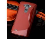 Фирменная ультра-тонкая полимерная из мягкого качественного силикона задняя панель-чехол-накладка для LG G4 Be..
