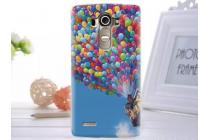"""Фирменная уникальная задняя панель-крышка-накладка из тончайшего пластика для LG G4 Beat / G4s с объёмным 3D рисунком """"тематика Вверх"""""""