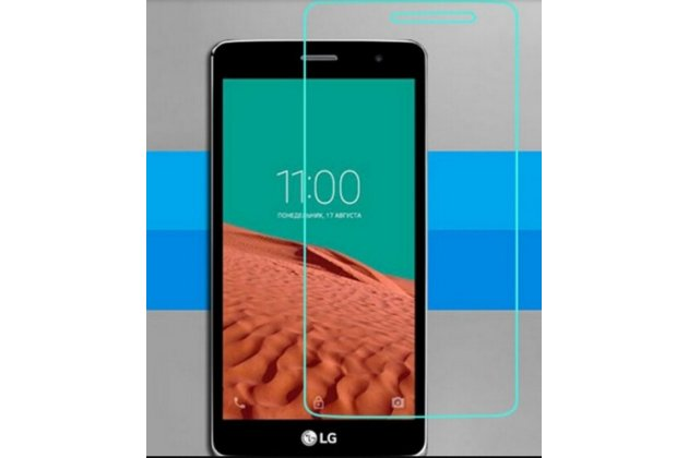 "Фирменная оригинальная защитная пленка для телефона LG Max X155 5.0"" глянцевая"