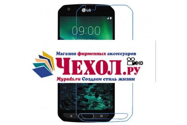 Фирменная оригинальная защитная пленка для телефона LG X Venture M710DS / V9 глянцевая
