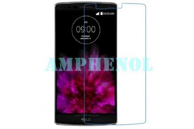 Фирменная оригинальная защитная пленка для телефона LG G Flex 2 (H959) глянцевая