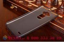 Фирменная ультра-тонкая полимерная из мягкого качественного силикона задняя панель-чехол-накладка для LG G Flex 2 (H959) черная