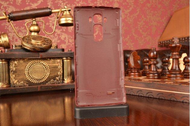 """Родная оригинальная задняя крышка-панель которая шла в комплекте для LG G Flex 2 (H959) 5.5""""  красная"""