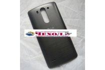 Родная оригинальная задняя крышка-панель которая шла в комплекте для LG G3 s Mini D724/D722  черная