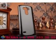 Фирменная ультра-тонкая полимерная из мягкого качественного силикона задняя панель-чехол-накладка для LG G3 /G..