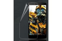 Фирменная оригинальная защитная пленка для телефона LG Google Nexus 5 D821 глянцевая