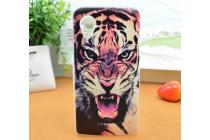 """Фирменная необычная из легчайшего и тончайшего пластика задняя панель-чехол-накладка для LG Google Nexus 5 D821  """"тематика Тигр"""""""