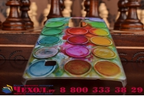 """Фирменная необычная из легчайшего и тончайшего пластика задняя панель-чехол-накладка для LG G4c H525N / LG Magna H502 """"тематика Краски"""""""