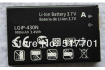 Фирменная аккумуляторная батарея 900mah LGIP-430N на телефон LG GS290 / T310 / T320 / T300 / TB260 / TM300+ гарантия