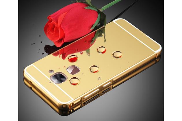 """Фирменная металлическая задняя панель-крышка-накладка из тончайшего облегченного авиационного алюминия для LeEco (LeTV) Le 2 PRO""""  золотая"""
