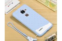"""Фирменная необычная уникальная полимерная мягкая задняя панель-чехол-накладка для LeEco (LeTV) Le Max 2 X820 32Gb""""  """"тематика Андроид в черничном шоколаде"""""""