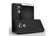 Фирменная задняя панель-крышка-накладка из тончайшего и прочного пластика для LeEco (LeTV) Le Max 2 X820 32Gb черная