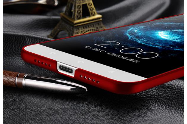 Фирменная задняя панель-крышка-накладка из тончайшего и прочного пластика для LeEco (LeTV) Le Max 2 X820 32Gb красная