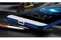 Фирменная задняя панель-крышка-накладка из тончайшего и прочного пластика для LeEco (LeTV) Le Max 2 X820 32Gb синяя