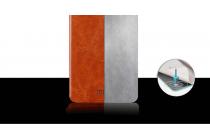 """Фирменный чехол-книжка из качественной водоотталкивающей импортной кожи на жёсткой металлической основе для LeEco (LeTV) Le Max 2 X820 32Gb"""" коричневый"""