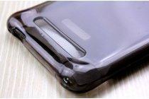 Фирменная ультра-тонкая полимерная из мягкого качественного силикона задняя панель-чехол-накладка для Leagoo Alfa 2 черная