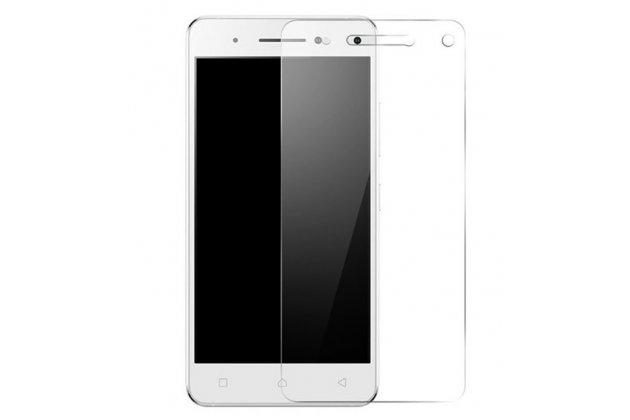 Фирменное защитное закалённое противоударное стекло премиум-класса из качественного японского материала с олеофобным покрытием для телефона Leagoo Alfa 4