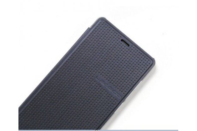 Фирменный оригинальный официальный умный чехол Dot View flip case для leagoo elite 1 черный