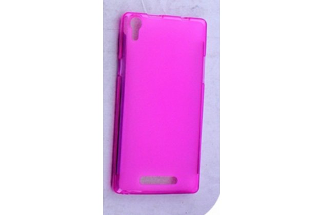 Фирменная ультра-тонкая полимерная из мягкого качественного силикона задняя панель-чехол-накладка для Leagoo Elite 2 розовая