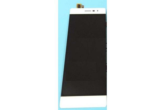 Фирменный LCD-ЖК-сенсорный дисплей-экран-стекло с тачскрином на телефон Leagoo Elite 2 белый + гарантия