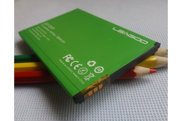 Фирменная аккумуляторная батарея BT-553P 3000mah на телефон Leagoo Elite 3 + инструменты для вскрытия + гарантия