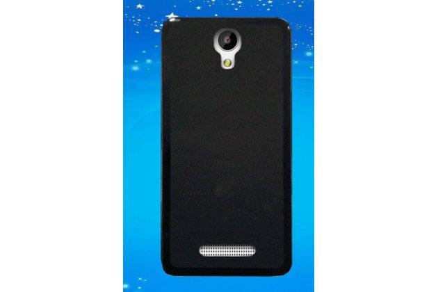 Фирменная ультра-тонкая полимерная из мягкого качественного силикона задняя панель-чехол-накладка для Leagoo Elite 4 черная