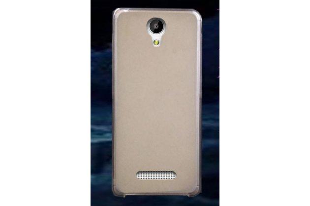 Фирменная ультра-тонкая полимерная из мягкого качественного силикона задняя панель-чехол-накладка для Leagoo Elite 4 белая